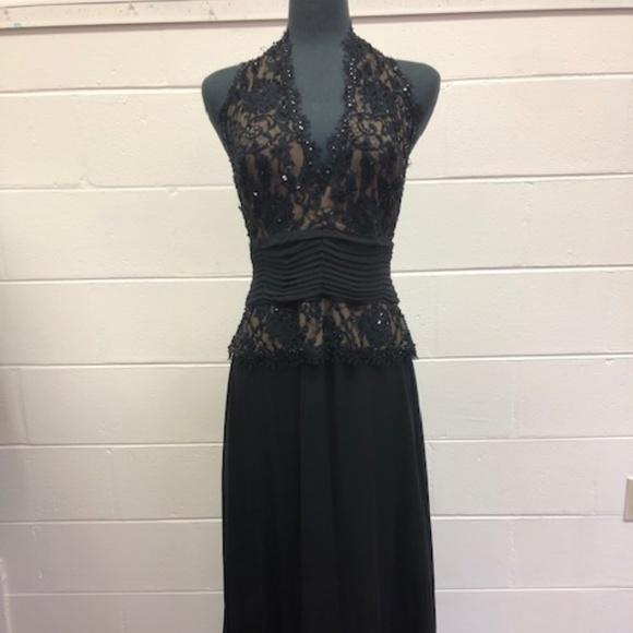11134cd82f91 Tadashi Shoji Dresses   Tadashi Black Halter Dress   Poshmark